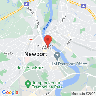 Combat Archery Newport Location Map