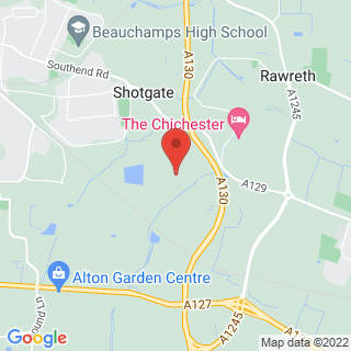 Paintball Wickford Location Map