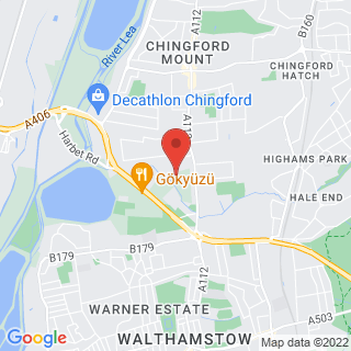 Bubble Football Chingford Location Map