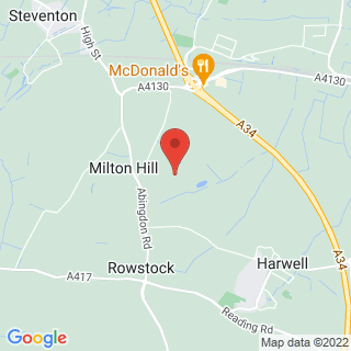 Paintball Oxford Location Map