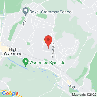 Bubble Football High Wycombe Location Map