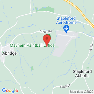 Combat Archery Abridge, Essex Location Map