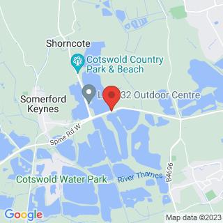 Archery Swindon Location Map