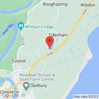 Stand Up Paddle Boarding (SUP) Chepstow Location Map