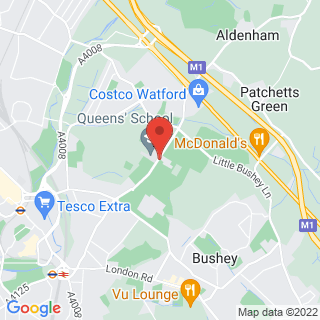 Bubble Football Watford, Hertfordshire Location Map