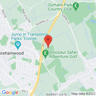 Clay Pigeon Shooting Barnet, Greater London Location Map