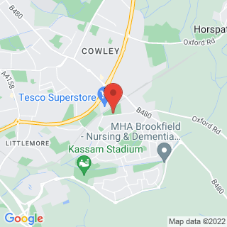 Karting Oxford, Oxfordshire Location Map