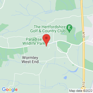 Paintball Broxbourne Location Map