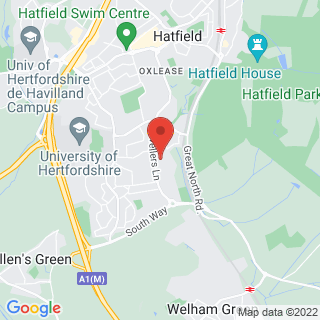 Combat Archery Hatfield, Hertfordshire Location Map