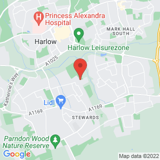 Bubble Football Harlow, Essex Location Map