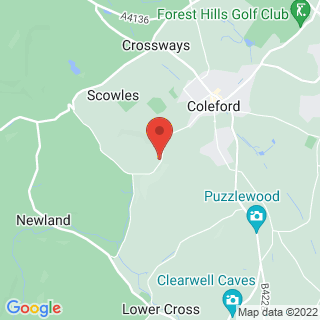 4x4 Off Roading Coleford, Gloucestershire Location Map