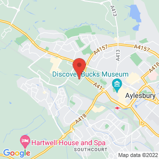 Karting Aylesbury, Buckinghamshire Location Map