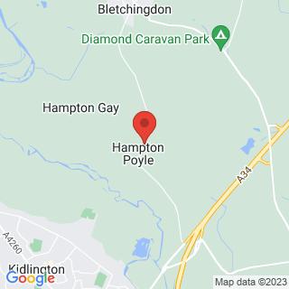 Archery Kidlington, Oxfordshire Location Map