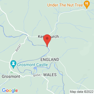 Archery Kentchurch Location Map