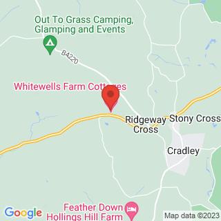 Laser Clays Malvern, Worcestershire Location Map
