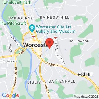 Scuba Diving Worcester Location Map