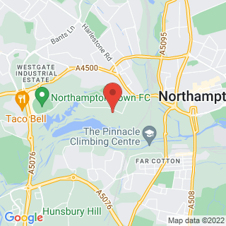 Karting Northampton, Northamptonshire Location Map