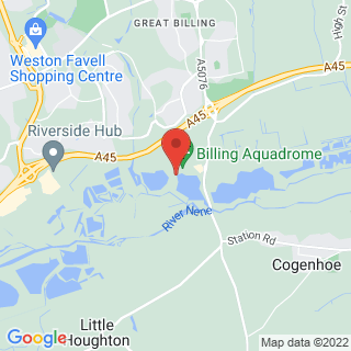 Karting Billing, Northampton Location Map