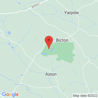 Clay Pigeon Shooting Leominster, Herefordshire Location Map