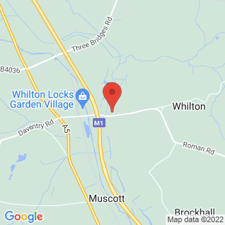 Quad Biking Daventry, Northamptonshire Location Map
