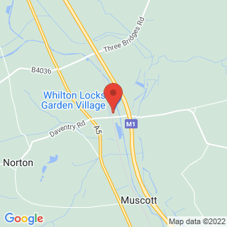 Karting Daventry, Northamptonshire Location Map