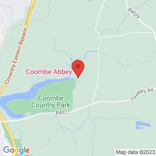 Bubble Football Binley Location Map