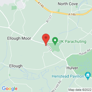 Skydiving Beccles Location Map