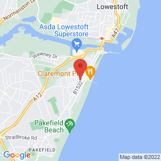Archery Lowestoft Location Map