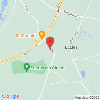 Airsoft Snetterton, Norfolk Location Map