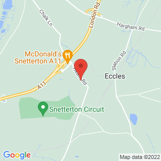 Archery Snetterton, Norfolk Location Map