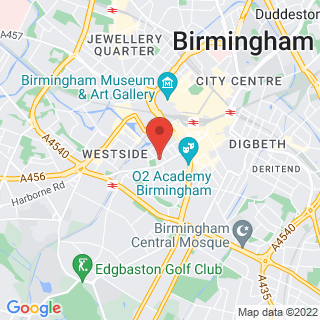 Combat Archery Birmingham Location Map