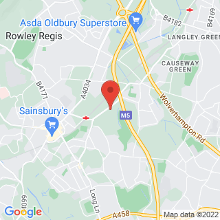 Combat Archery Dudley, West Midlands Location Map