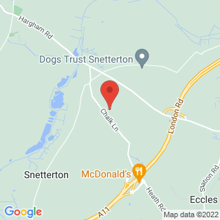 Paintball Thetford Location Map