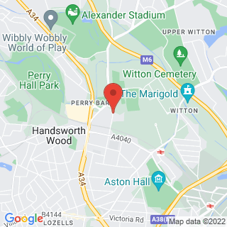 Bubble Football Birmingham Location Map