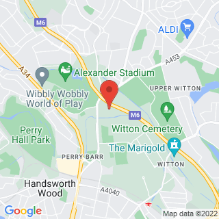 Combat Archery Birmingham, Perry Barr Location Map
