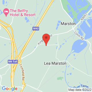 Bubble Football Lea Marston Location Map