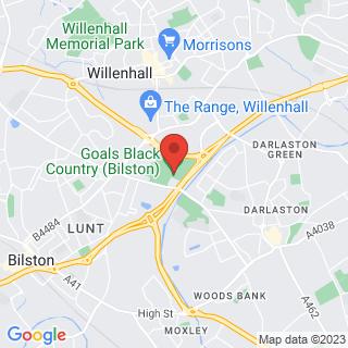 Bubble Football Wolverhampton Location Map