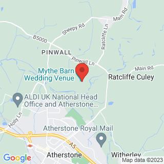 Archery Atherstone, Warwickshire Location Map