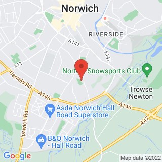 Combat Archery Norwich Location Map