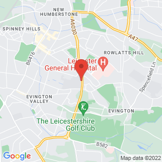 Combat Archery Leicester Location Map