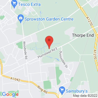 Paintball Norwich East Location Map
