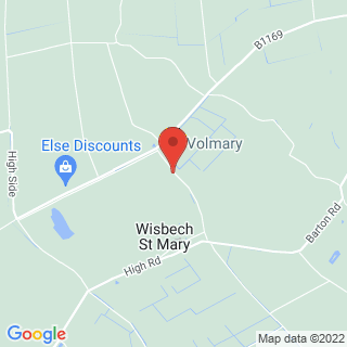 Falconry Wisbech St Mary, Cams Location Map