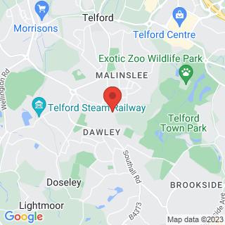 Combat Archery Telford, Shropshire Location Map