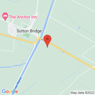 Clay Pigeon Shooting Sutton Bridge, Lincolnshire Location Map