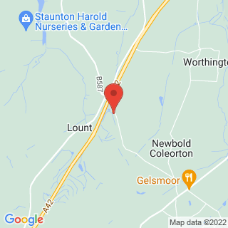 Archery Lount, Leicestershire Location Map