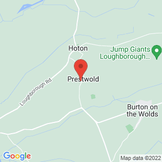 Rally Driving Prestwold, Leicestershire Location Map
