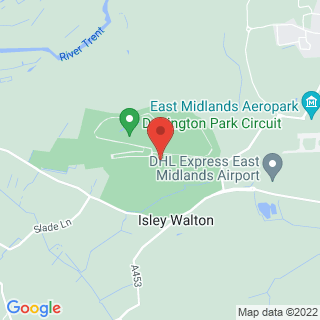 Driving Experiences Donington Park Location Map