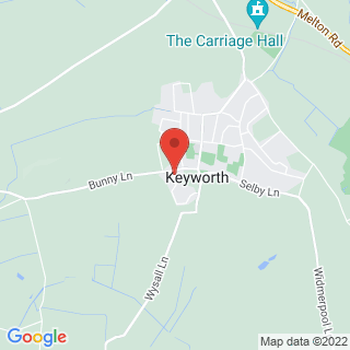 Paintball Nottingham - Keyworth Location Map