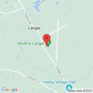 Skydiving Nottingham Location Map