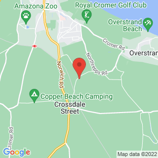 Karting Cromer, Norfolk Location Map